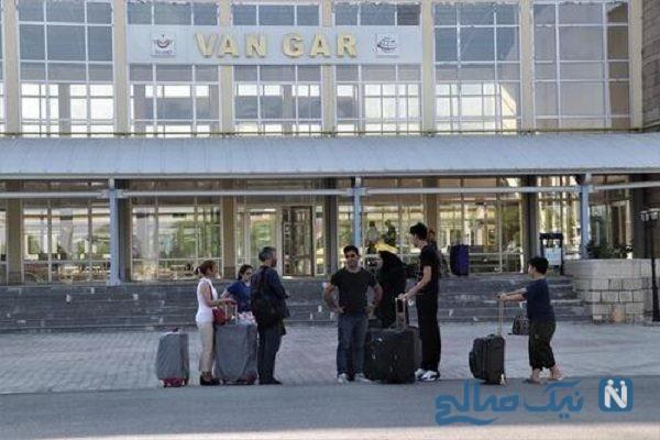 ورود اولین مسافران ایرانی به شهر وان با قطار تهران وان