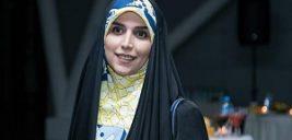 تیپ سنگین مژده لواسانی در سالن زیبایی مریم سلطانی