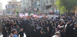 تصاویری از مراسم تشییع شهدای حادثه تروریستی اهواز