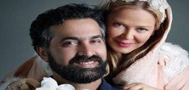 بهاره رهنما و همسرش در جشن تولد فرزاد حسنی