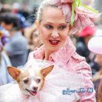 دیدنی های جذاب روز – دوشنبه ۲ اردیبهشت! از عید پاک در نیویورک تا شکوفه های گیلاس بریتانیا