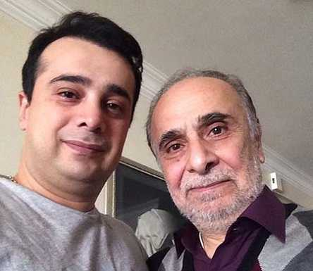 سعید امیر سلیمانی : مریض هم که باشم در عزاداریها شرکت می کنم!+تصاویر