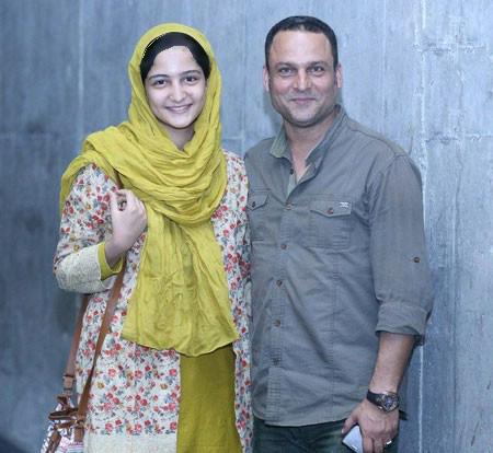 حسین یاری و دخترش در گذشته و اکنون+تصاویر