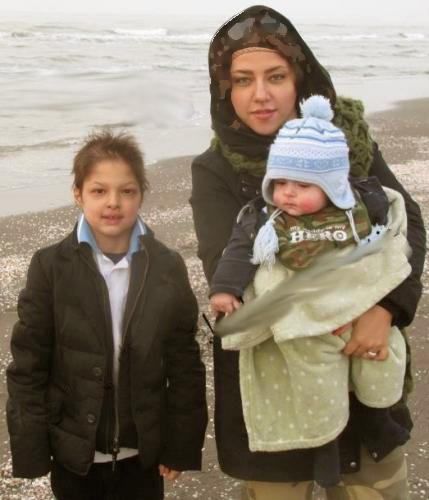 شهاب حسینی با پسرانش در فیلم جدید اصغر فرهادی+تصاویر