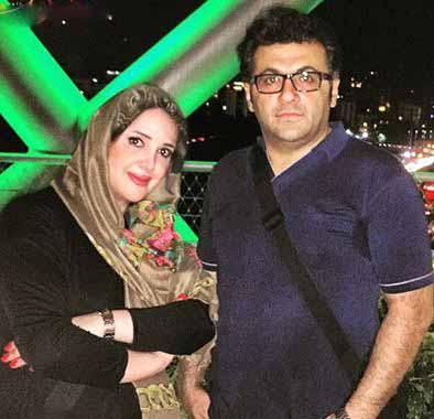 عکسهای خانوادگی شهرام عبدلی و همسرش+تصاویر