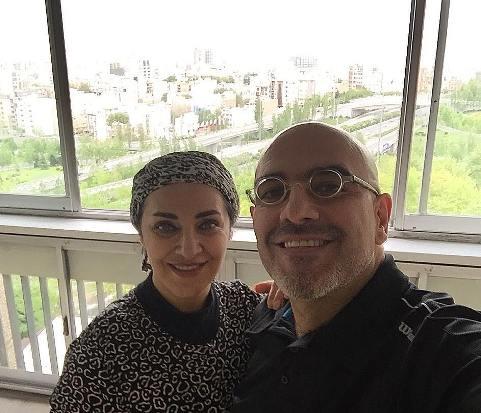 رویا نونهالی و همسرش رامین فاروقی+تصاویر