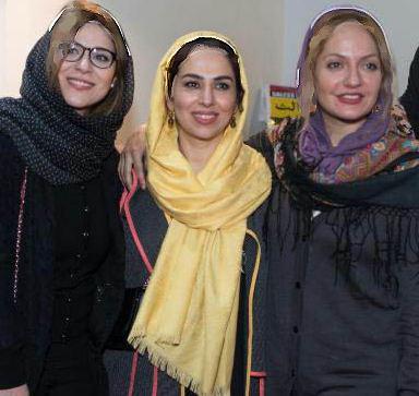چهره متفاوت سحر دولتشاهی با عینک طبی+تصاویر