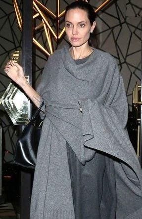 کاهش وزن شدید آنجلینا جولی بازیگر مشهور هالیوود!+تصاویر