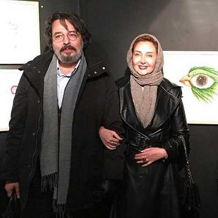 کتایون ریاحی در کنار برادرش + عکس