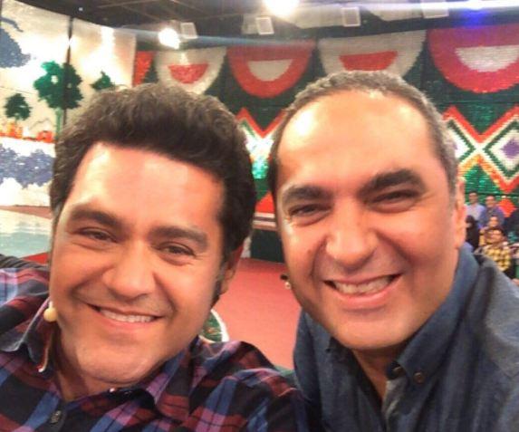 عکسهایی دیدنی از محسن و مصطفی کیایی در خندوانه!+تصاویر