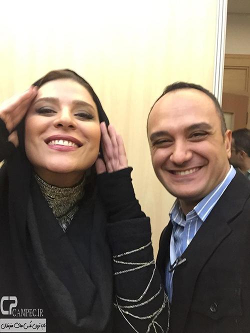 عکس های سحر دولتشاهی در مراسم اختتامیه جشنواره ۳۳ فیلم فجر