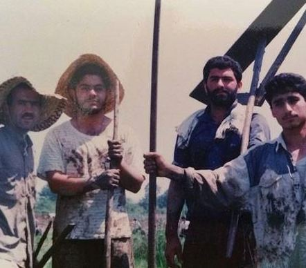 عکسی قدیمی و دیده نشده از مجری صدا و سیما+تصاویر