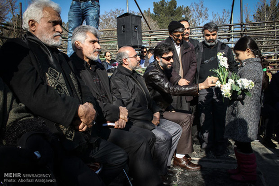 گرامیداشت چهلمین روز درگذشت مرتضی پاشایی + تصاویر