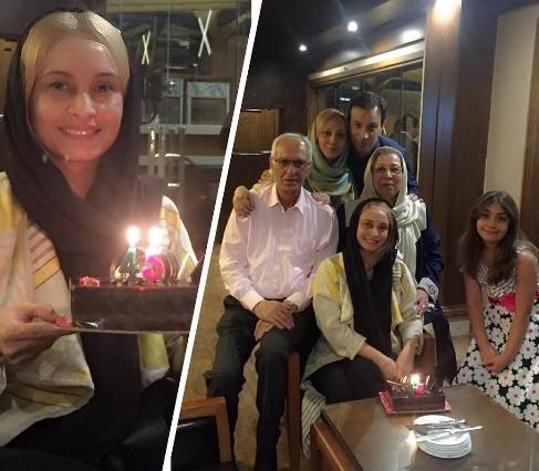 جشن تولد ۴۵ سالگی مریم کاویانی بازیگر کشورمان!+عکس