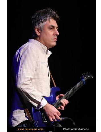نوازنده سرشناس گیتار الکتریک کشورمان فوت کرد!+تصاویر