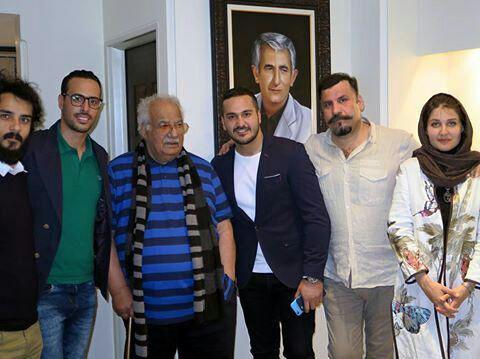 جشن تولد ۸۵ سالگی ناصر ملک مطیعی+تصاویر
