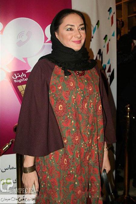 عکس های هانیه توسلی در مراسم اختتامیه جشنواره ۳۳ فیلم فجر