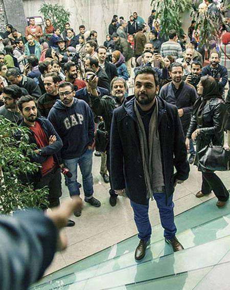 """احسان علیخانی در مراسم اکران خصوصی """"چهارشنبه ۱۹ اردیبهشت""""+تصاویر"""