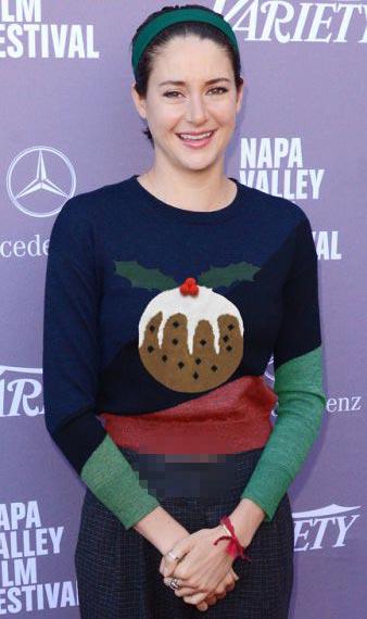 تصاویر جالب ستارگان با پولیورهای کریسمسی + تصاویر