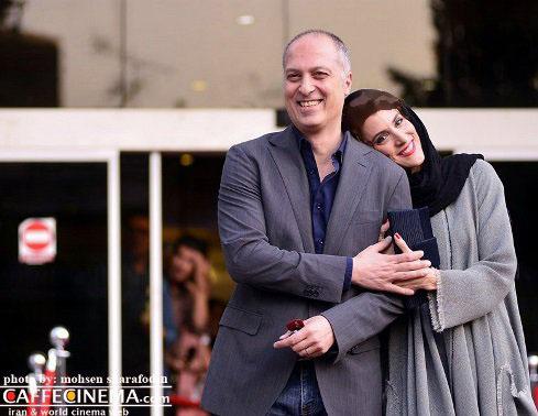 ابرازعشق ویشکا آسایش به همسرش در جشن حافظ+عکس