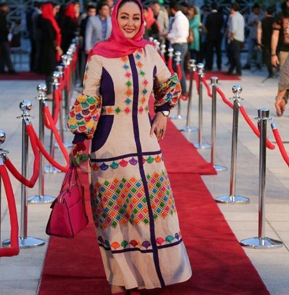 پوشش الهام حمیدی در محفل هنری ویژه اهالی سینما و تلویزیون!+تصاویر
