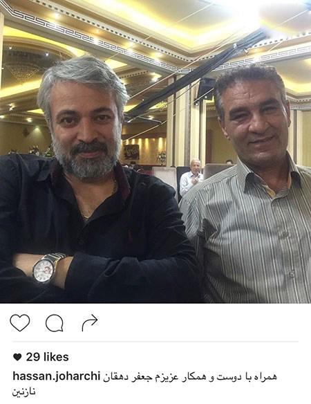 حسن جوهرچی بازیگر سینما و تلویزیون در کنار دخترش!+تصاویر
