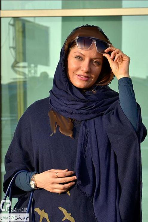 عکس های مهناز افشار در روز نهم جشنواره ۳۳ فیلم فجر
