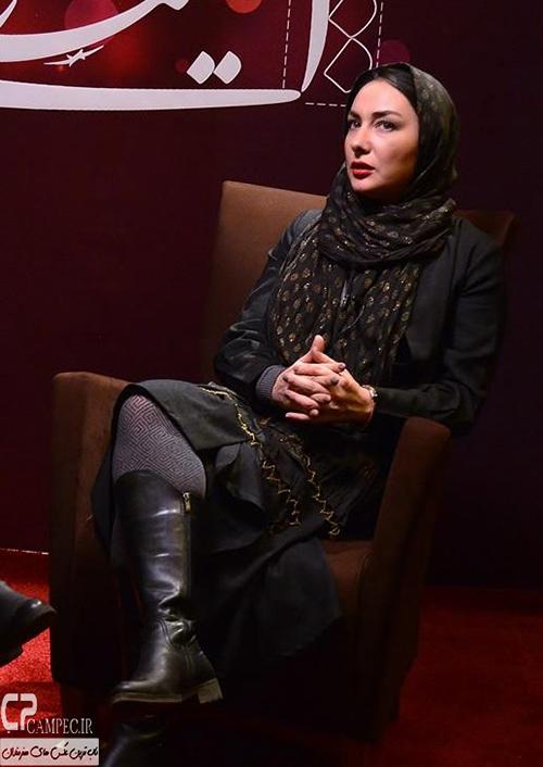 جدید ترین تصاویر هانیه توسلی در جشنواره سی و سوم فیلم فجر