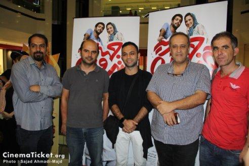 صابر ابر در مراسم دیدار با عوامل فیلم قندون جهیزیه+تصاویر