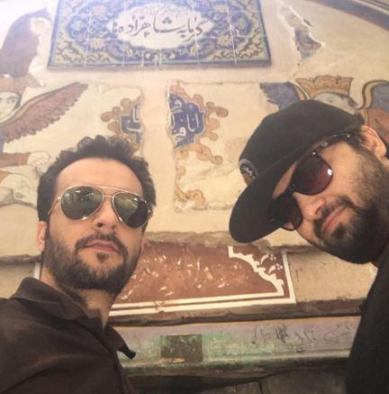 اصفهان گردی مهدی و محمد سلوکی!+تصاویر