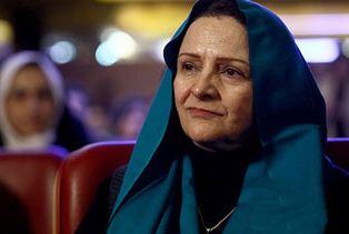 گلاب آدینه بازیگر سینمای ایران با گریمی عجیب و غریب!+عکس