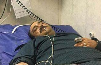 مهران غفوریان بازیگر کشورمان در بیمارستان بستری شد!+عکس