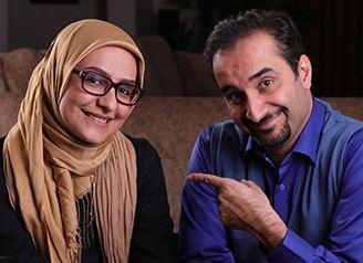 مجری تلویزیون و همکاری با همسرش روی آنتن زنده!+عکس