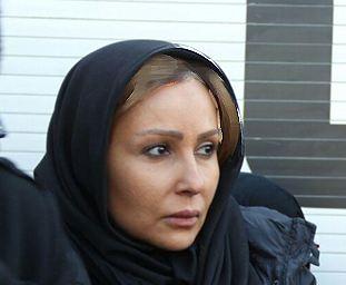 بازیگران مشهور زن در مراسم تشییع شهدای آتش نشان!+تصاویر