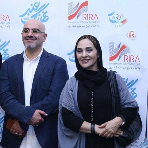 رویا نونهالی و همسرش و همکاری شان باهم در جشنواره فجر!+تصاویر