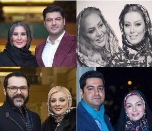 عکسهای خانوادگی بازیگران در سی و پنجمین جشنواره فیلم فجر!