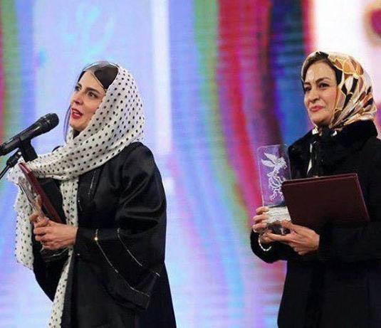 برگزیدگان سی و پنجمین جشنواره فیلم فجر به همراه عکسهایی از این مراسم!+تصاویر