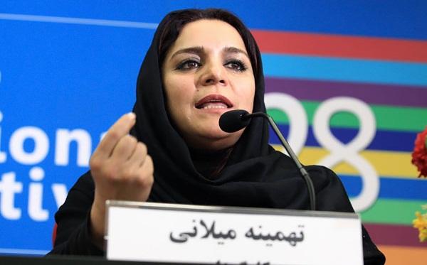 تهمینه میلانی کارگردان سینما و انتقاد از جشنواره فیلم فجر سی و پنجم!+تصاویر