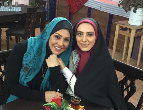 مونا فرجاد بازیگر سریال آرام می گیریم