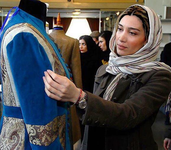 نیکی مظفری در افتتاحیه جشنواره بین المللى مد و لباس فجر!+تصاویر