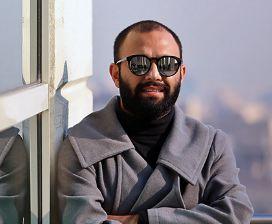 صابر ابر بازیگر مطرح سینما در کاخ رسانه های جشنواره فیلم فجر!+تصاویر