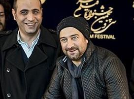 مجید صالحی و ژستش روی فرش قرمز جشنواره سی و پنجم!+عکس