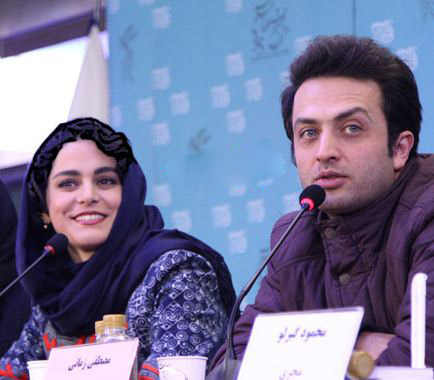 نشست فیلم سارا و آیدا در سی و پنجمین جشنواره فیلم فجر!+تصاویر
