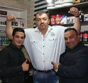 احمد ایراندوست بادیگارد جنیفر لوپز