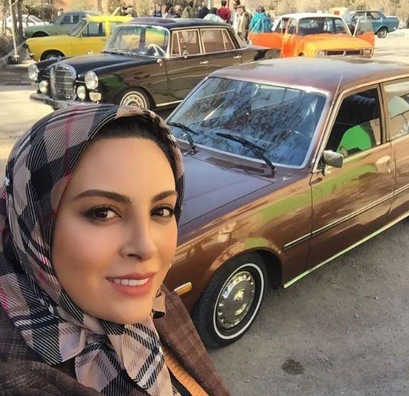 حدیثه تهرانی با پرواز در ارتفاع صفر به دوران جنگ می رود!+تصاویر