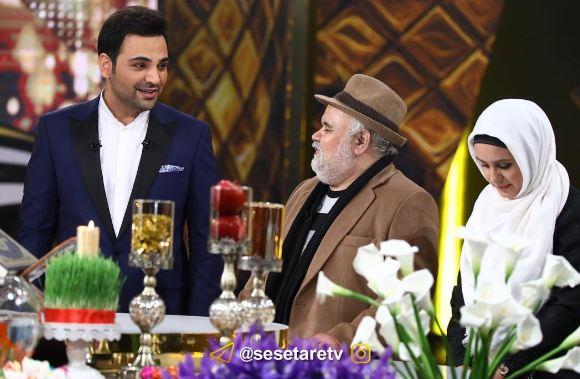 اکبر عبدی و محمد علیزاده