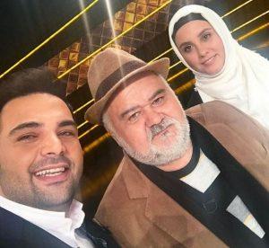اکبر عبدی و محمد علیزاده همراه با خانواده شان در شبکه سه!+تصاویر