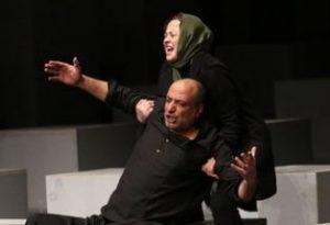نمایش ترن حمیدرضا آذرنگ در تئاتر شهر!+تصاویر