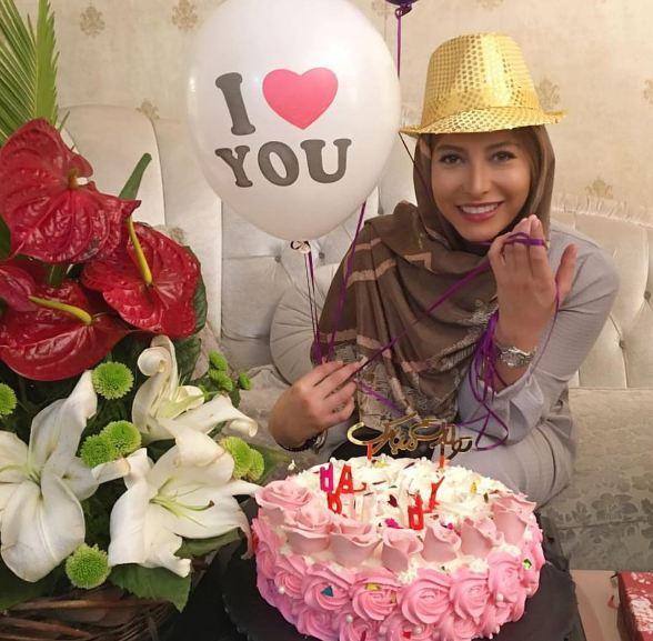 جشن تولد فریبا نادری در سالن زیبایی مریم سلطانی!+تصاویر