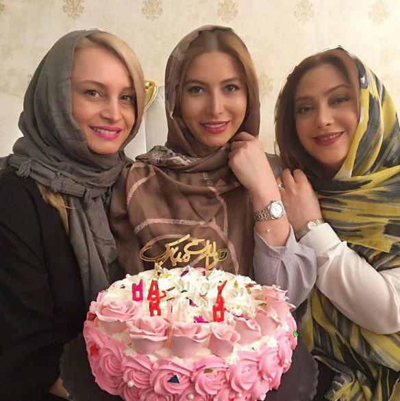 جشن تولد فریبا نادری